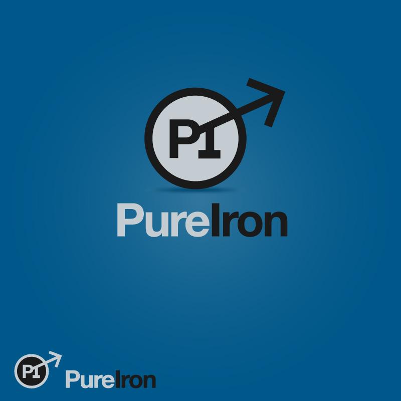 Logo Design by trav - Entry No. 24 in the Logo Design Contest Fun Logo Design for Pure Iron.