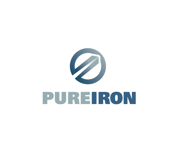 Logo Design by Private User - Entry No. 25 in the Logo Design Contest Fun Logo Design for Pure Iron.