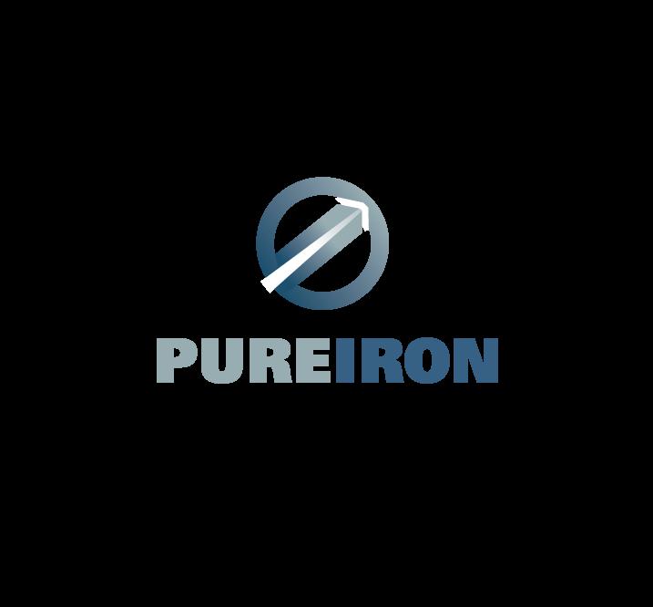Logo Design by Private User - Entry No. 25 in the Logo Design Contest Fun Logo Design for Pure Iron.