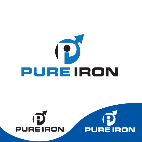 Logo Design by storm - Entry No. 32 in the Logo Design Contest Fun Logo Design for Pure Iron.