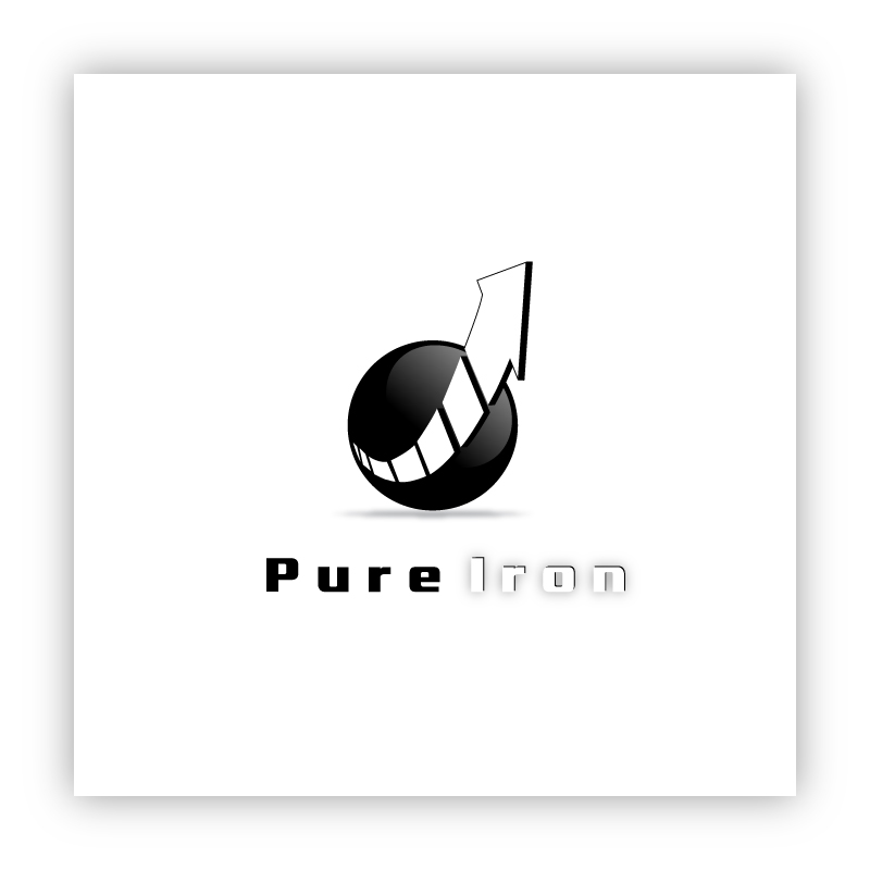 Logo Design by trav - Entry No. 36 in the Logo Design Contest Fun Logo Design for Pure Iron.