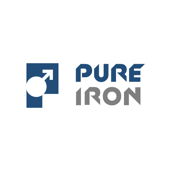 Logo Design by Rudy - Entry No. 38 in the Logo Design Contest Fun Logo Design for Pure Iron.
