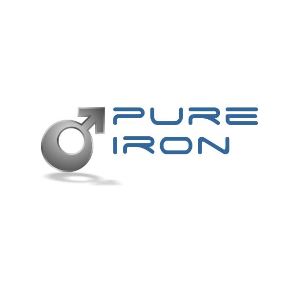 Logo Design by Rudy - Entry No. 39 in the Logo Design Contest Fun Logo Design for Pure Iron.