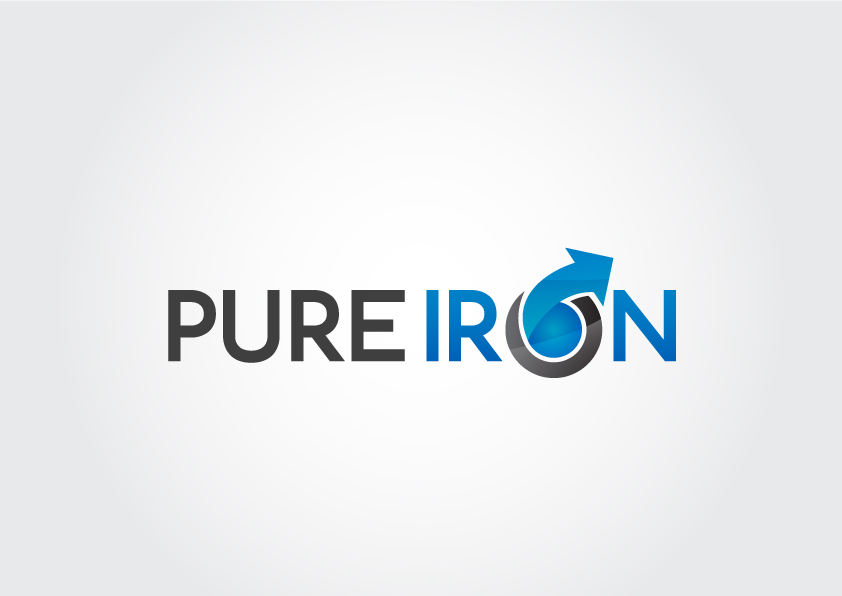 Logo Design by Suryo Prakadewa - Entry No. 41 in the Logo Design Contest Fun Logo Design for Pure Iron.