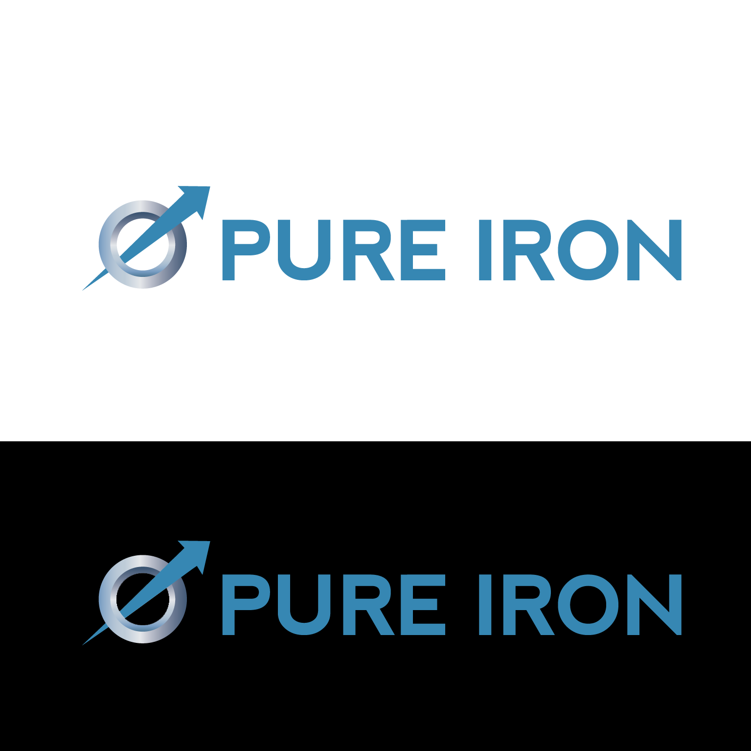 Logo Design by luna - Entry No. 43 in the Logo Design Contest Fun Logo Design for Pure Iron.