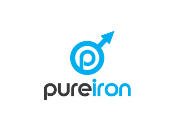 Logo Design by lead - Entry No. 44 in the Logo Design Contest Fun Logo Design for Pure Iron.