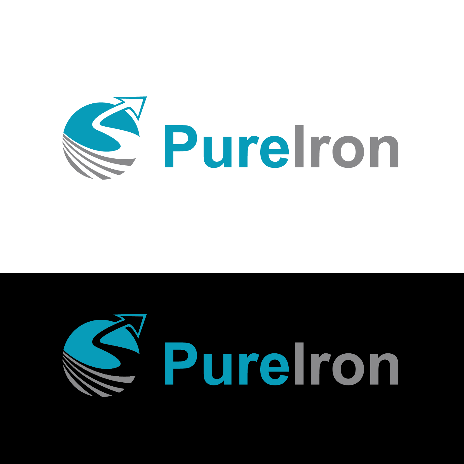 Logo Design by luna - Entry No. 45 in the Logo Design Contest Fun Logo Design for Pure Iron.