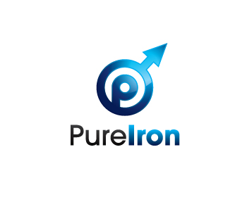 Logo Design by lead - Entry No. 46 in the Logo Design Contest Fun Logo Design for Pure Iron.