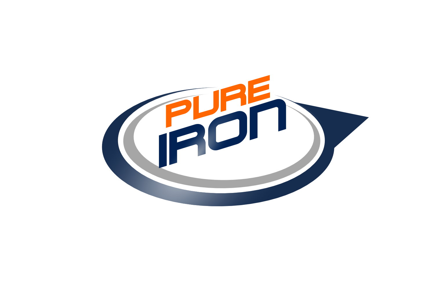 Logo Design by whoosef - Entry No. 48 in the Logo Design Contest Fun Logo Design for Pure Iron.