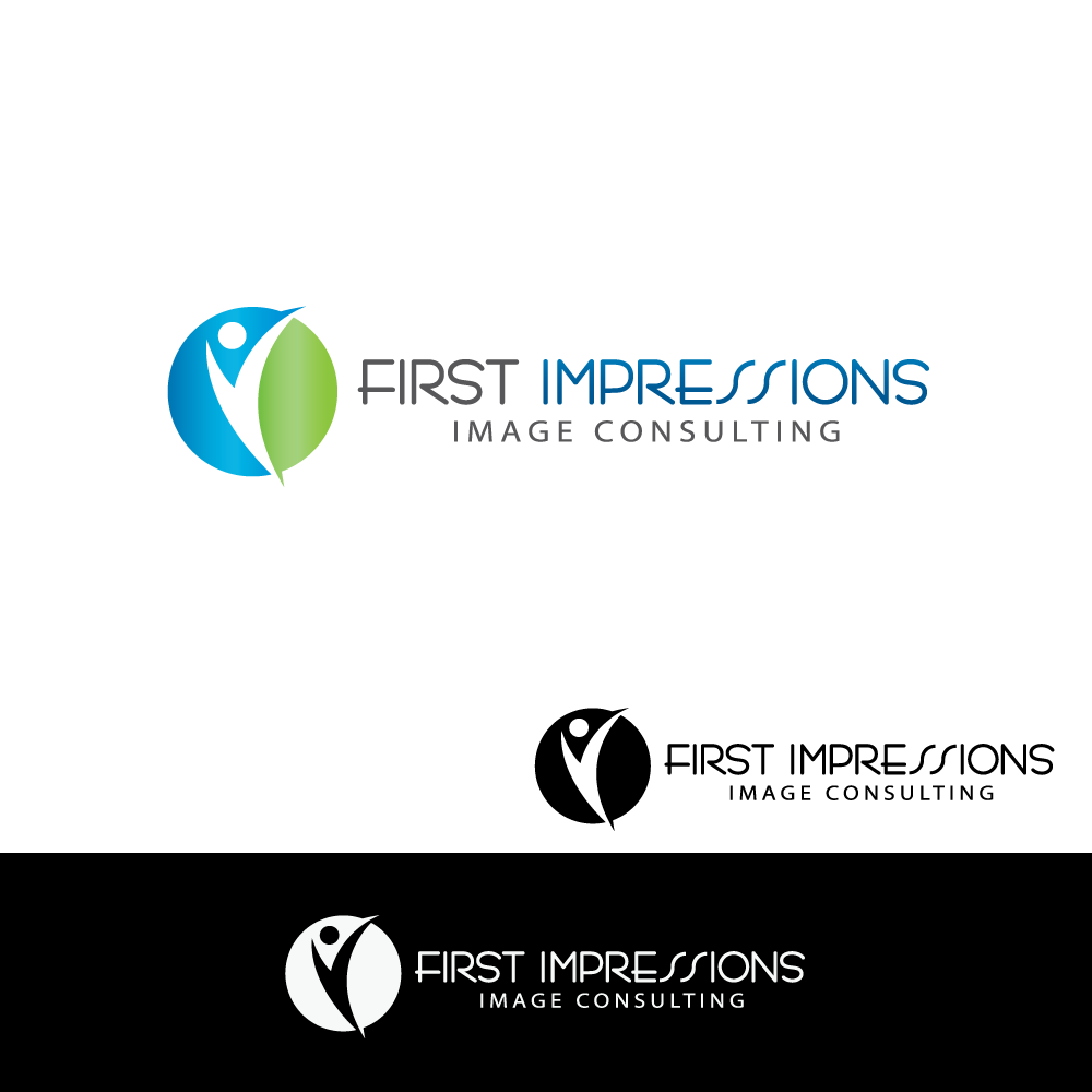 Logo Design by rockin - Entry No. 14 in the Logo Design Contest First Impressions Image Consulting Logo Design.