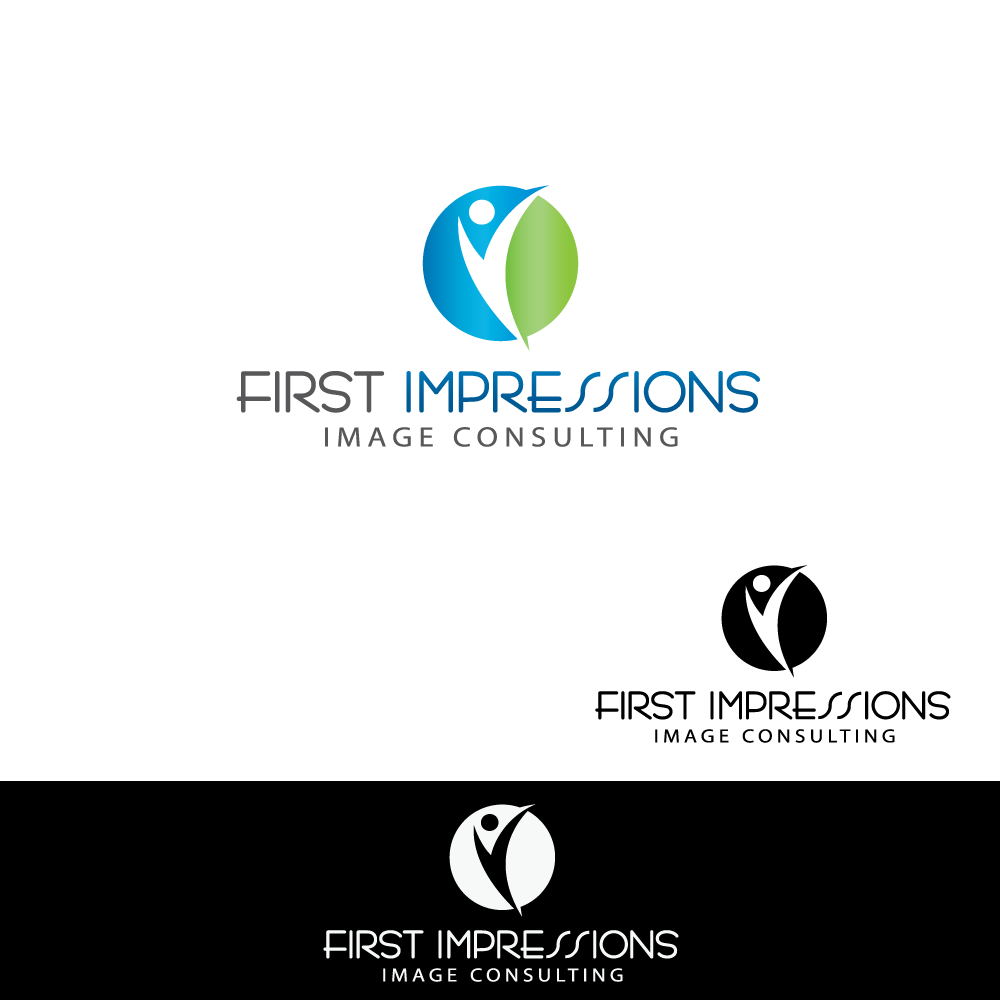 Logo Design by rockin - Entry No. 15 in the Logo Design Contest First Impressions Image Consulting Logo Design.