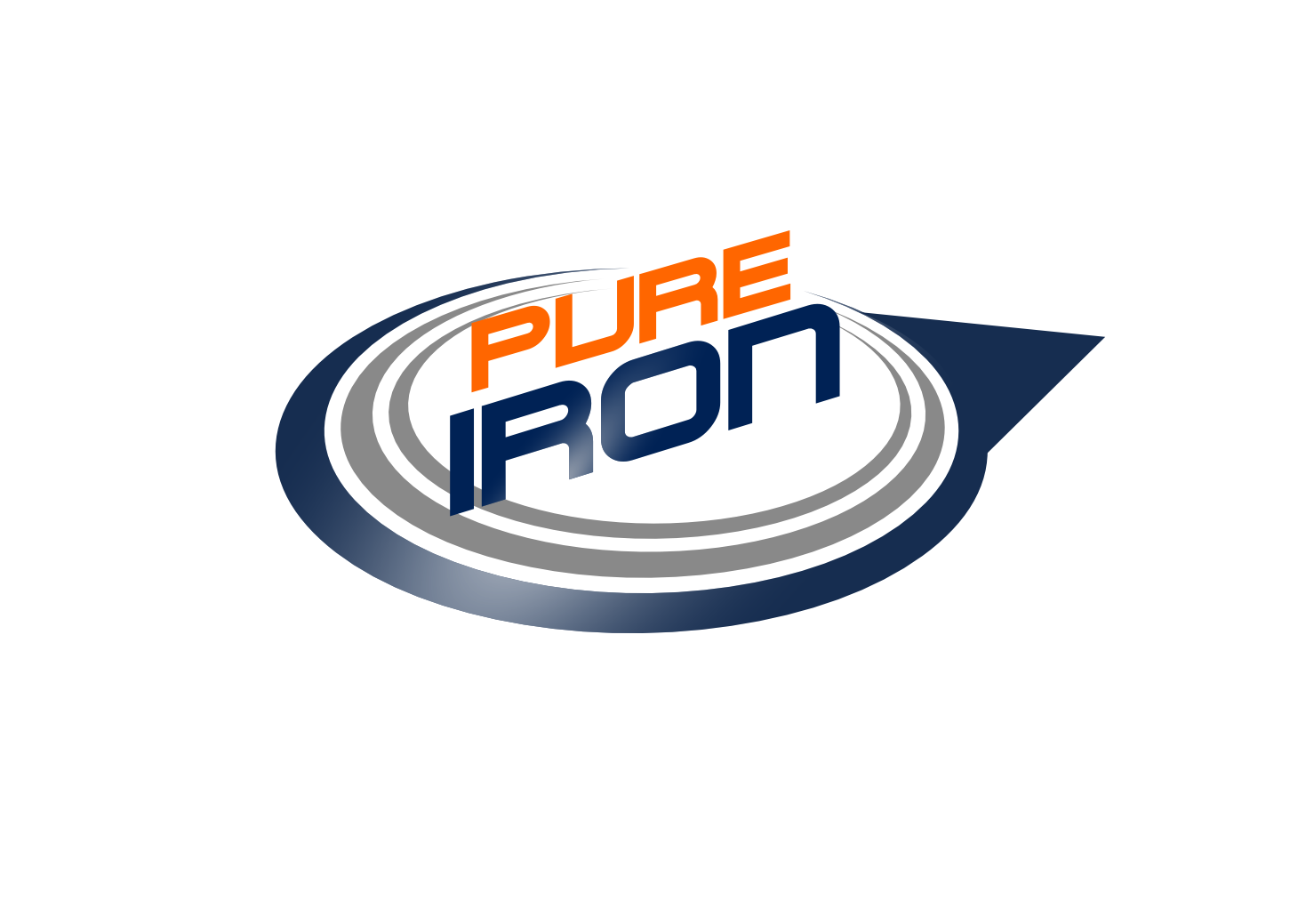 Logo Design by whoosef - Entry No. 49 in the Logo Design Contest Fun Logo Design for Pure Iron.
