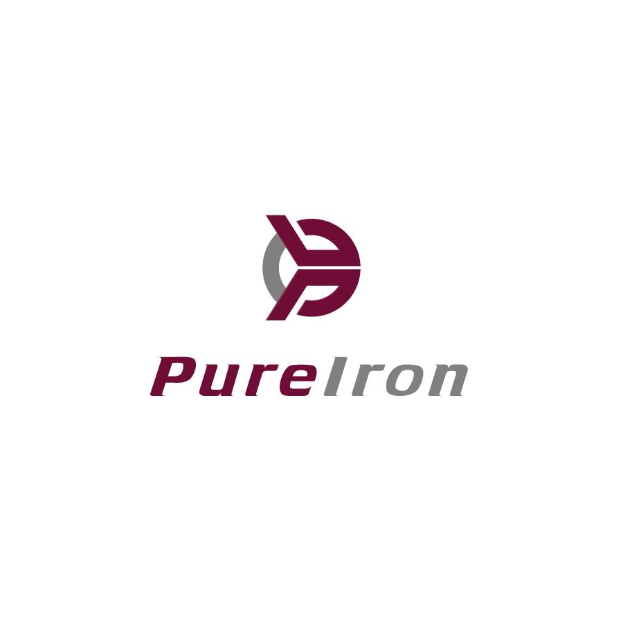 Logo Design by zesthar - Entry No. 55 in the Logo Design Contest Fun Logo Design for Pure Iron.