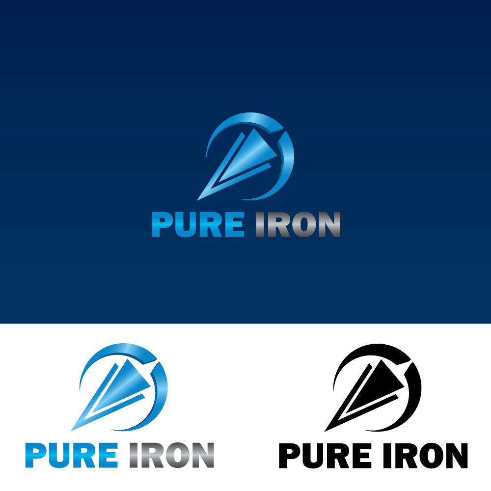 Logo Design by rockin - Entry No. 59 in the Logo Design Contest Fun Logo Design for Pure Iron.