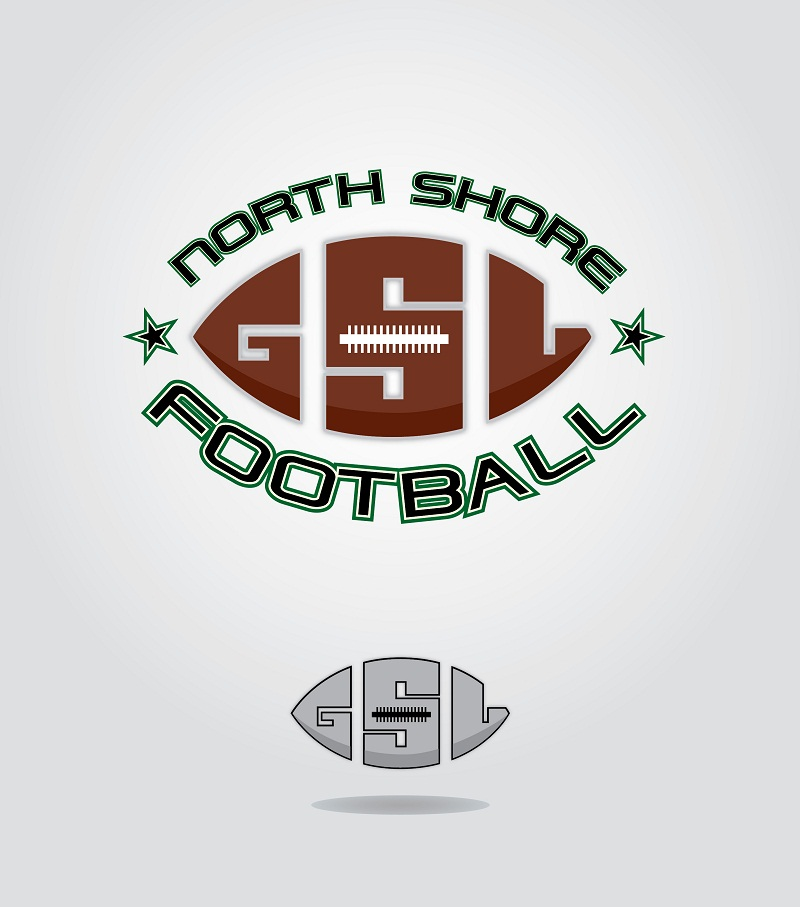 Logo Design by kowreck - Entry No. 4 in the Logo Design Contest Unique Logo Design Wanted for GSL Football, also known as North Shore Football.