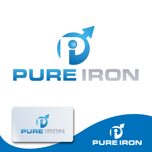 Logo Design by storm - Entry No. 62 in the Logo Design Contest Fun Logo Design for Pure Iron.