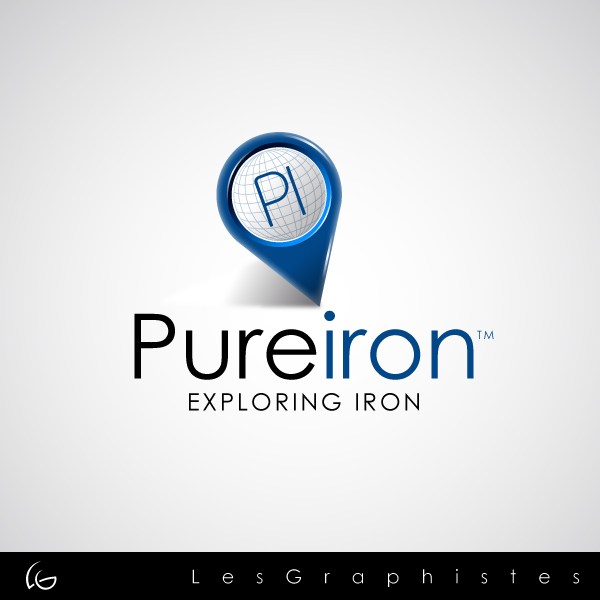 Logo Design by Les-Graphistes - Entry No. 63 in the Logo Design Contest Fun Logo Design for Pure Iron.