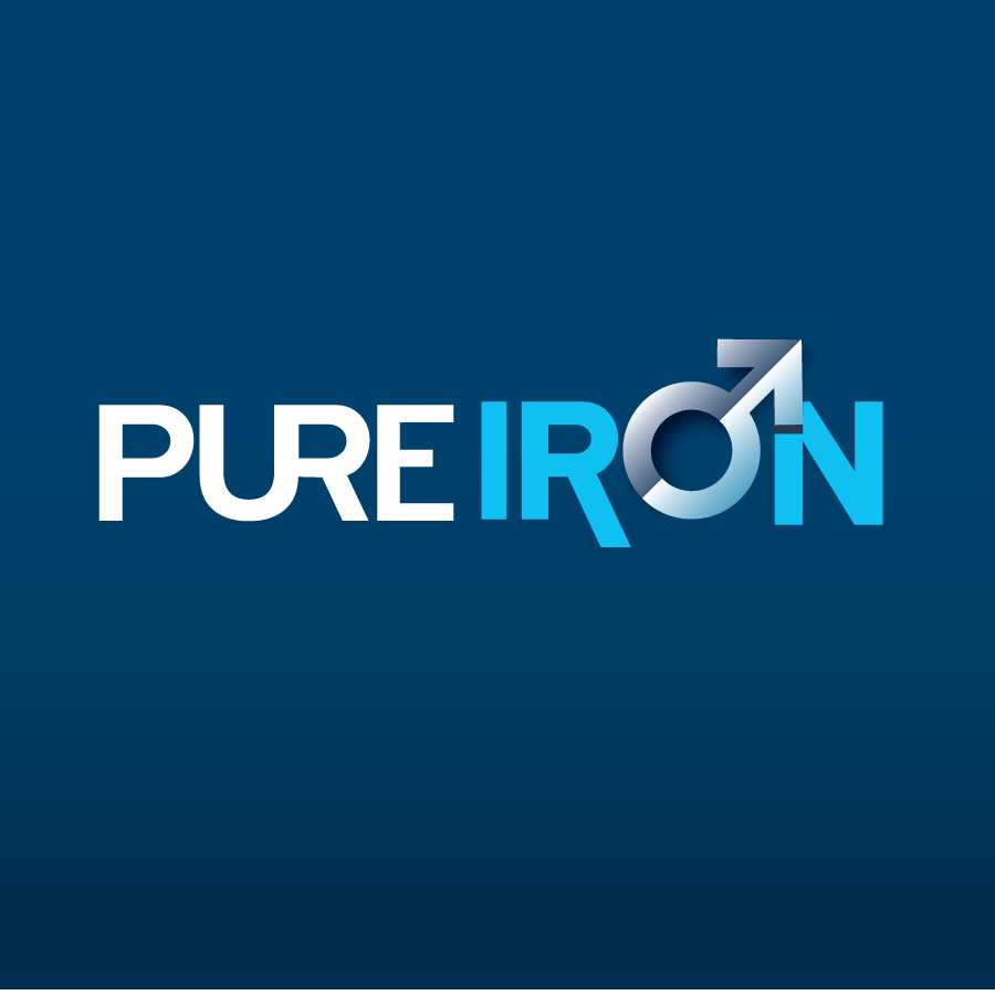 Logo Design by Private User - Entry No. 69 in the Logo Design Contest Fun Logo Design for Pure Iron.