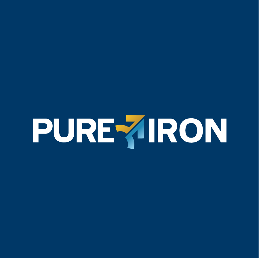 Logo Design by Private User - Entry No. 70 in the Logo Design Contest Fun Logo Design for Pure Iron.