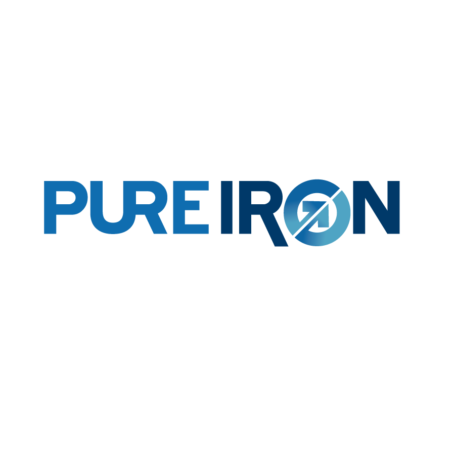 Logo Design by Private User - Entry No. 71 in the Logo Design Contest Fun Logo Design for Pure Iron.