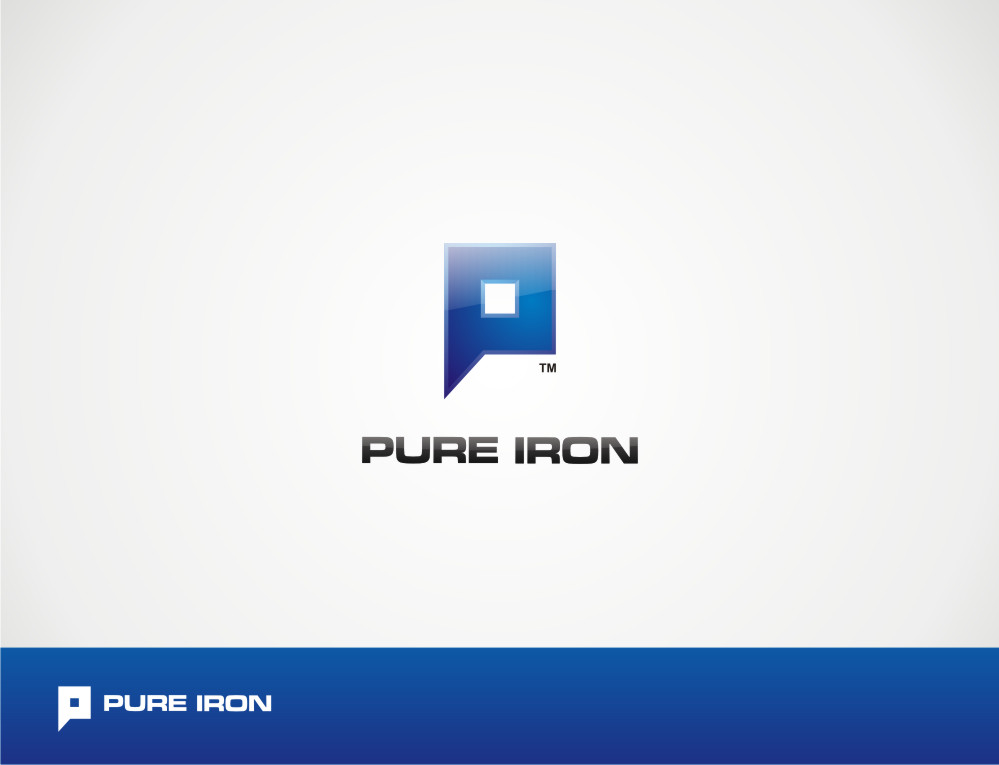 Logo Design by Private User - Entry No. 73 in the Logo Design Contest Fun Logo Design for Pure Iron.