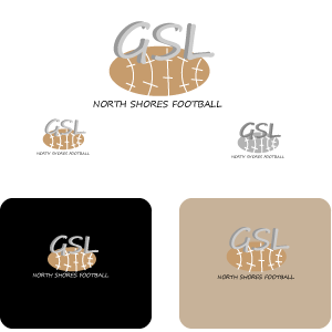 Logo Design by designabby - Entry No. 7 in the Logo Design Contest Unique Logo Design Wanted for GSL Football, also known as North Shore Football.