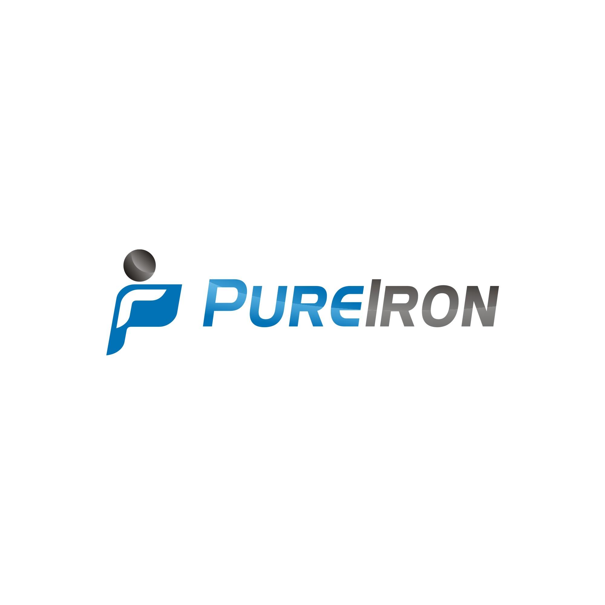 Logo Design by jalal - Entry No. 75 in the Logo Design Contest Fun Logo Design for Pure Iron.
