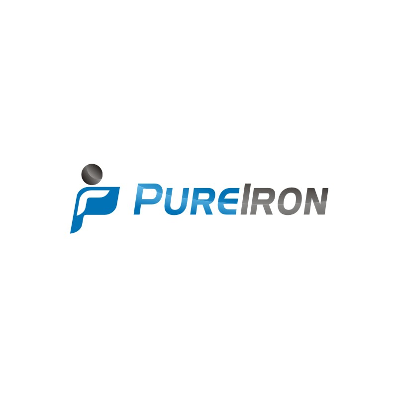 Logo Design by jalal - Entry No. 76 in the Logo Design Contest Fun Logo Design for Pure Iron.