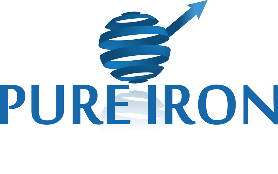 Logo Design by robken0174 - Entry No. 77 in the Logo Design Contest Fun Logo Design for Pure Iron.
