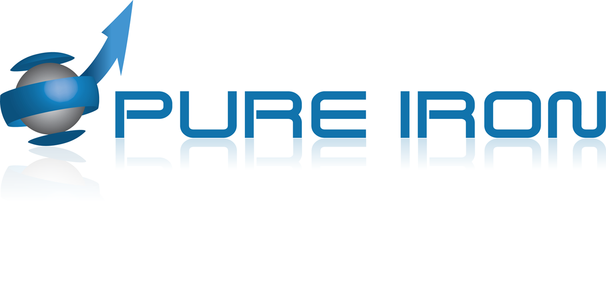 Logo Design by robken0174 - Entry No. 81 in the Logo Design Contest Fun Logo Design for Pure Iron.