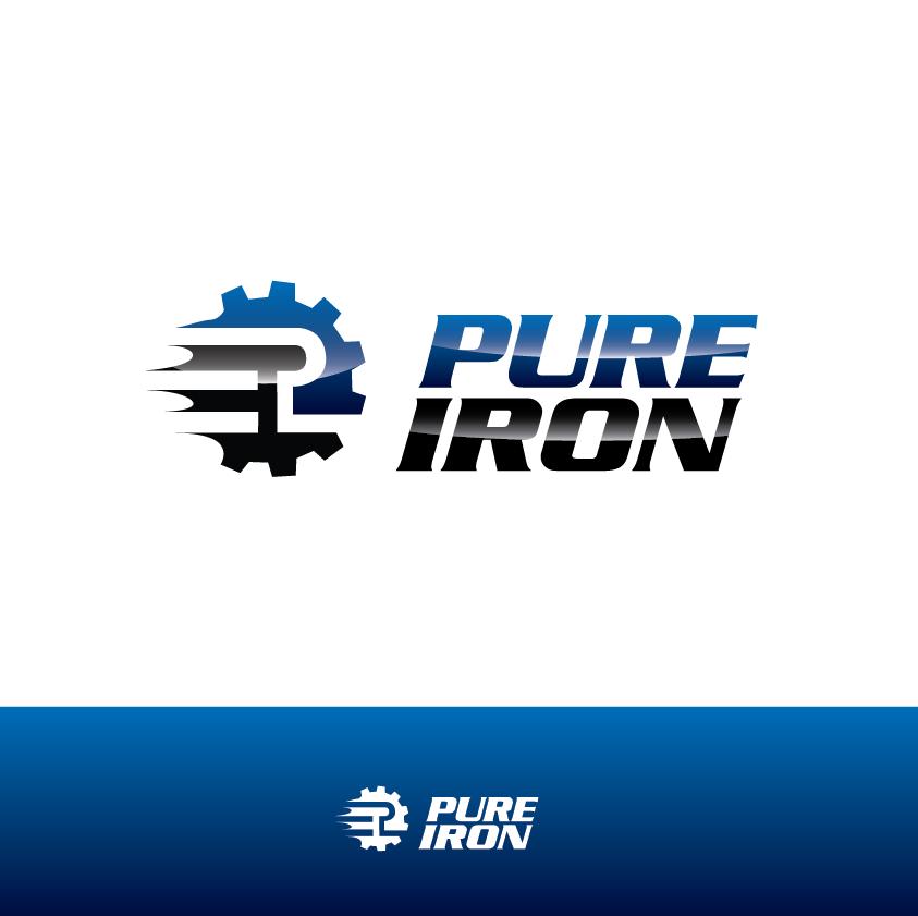 Logo Design by limix - Entry No. 82 in the Logo Design Contest Fun Logo Design for Pure Iron.