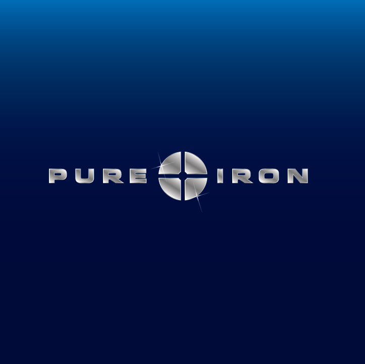 Logo Design by limix - Entry No. 83 in the Logo Design Contest Fun Logo Design for Pure Iron.