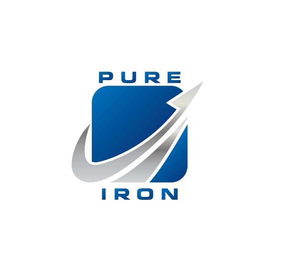 Logo Design by limix - Entry No. 84 in the Logo Design Contest Fun Logo Design for Pure Iron.