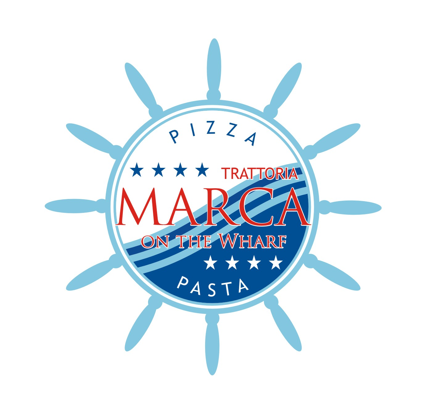 Logo Design by jalal - Entry No. 55 in the Logo Design Contest New Logo Design for Marca on the Wharf.