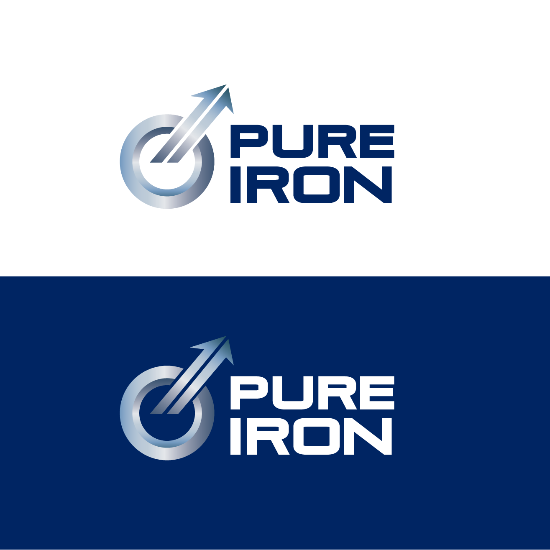 Logo Design by luna - Entry No. 86 in the Logo Design Contest Fun Logo Design for Pure Iron.