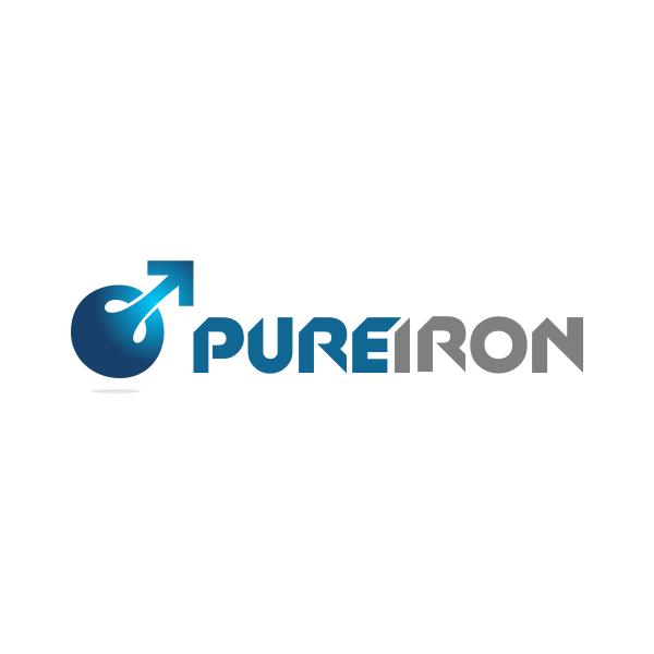 Logo Design by Rudy - Entry No. 89 in the Logo Design Contest Fun Logo Design for Pure Iron.