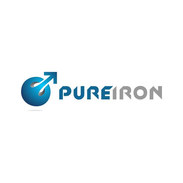Logo Design by Rudy - Entry No. 90 in the Logo Design Contest Fun Logo Design for Pure Iron.