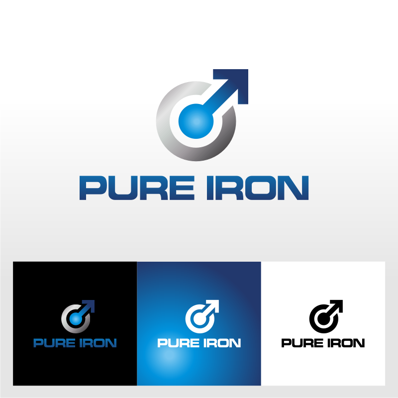 Logo Design by Heru budi Santoso - Entry No. 97 in the Logo Design Contest Fun Logo Design for Pure Iron.