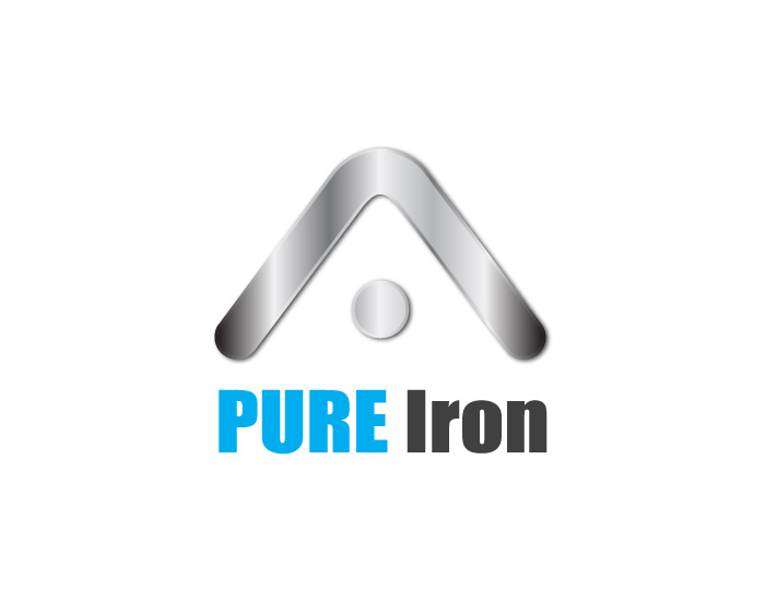 Logo Design by Diana Roder - Entry No. 98 in the Logo Design Contest Fun Logo Design for Pure Iron.