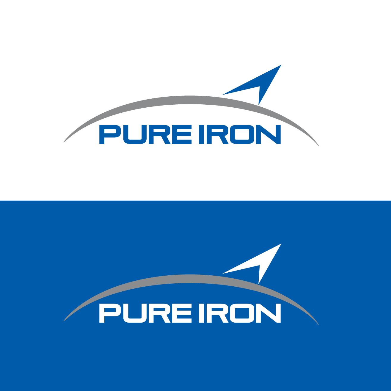 Logo Design by luna - Entry No. 102 in the Logo Design Contest Fun Logo Design for Pure Iron.