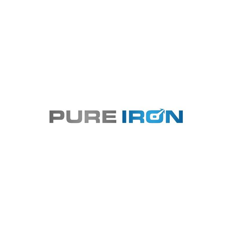 Logo Design by untung - Entry No. 104 in the Logo Design Contest Fun Logo Design for Pure Iron.