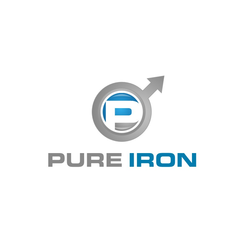Logo Design by untung - Entry No. 106 in the Logo Design Contest Fun Logo Design for Pure Iron.