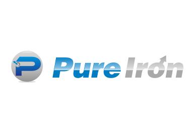 Logo Design by TUNJH - Entry No. 109 in the Logo Design Contest Fun Logo Design for Pure Iron.