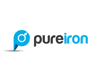 Logo Design by lead - Entry No. 111 in the Logo Design Contest Fun Logo Design for Pure Iron.