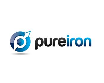 Logo Design by lead - Entry No. 112 in the Logo Design Contest Fun Logo Design for Pure Iron.