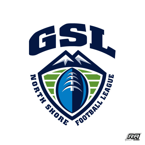 Logo Design by RA-Design - Entry No. 14 in the Logo Design Contest Unique Logo Design Wanted for GSL Football, also known as North Shore Football.