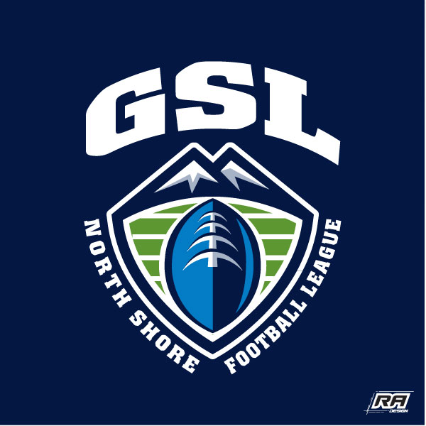 Logo Design by RA-Design - Entry No. 15 in the Logo Design Contest Unique Logo Design Wanted for GSL Football, also known as North Shore Football.