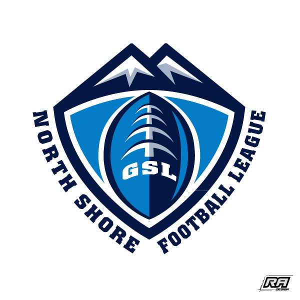Logo Design by RA-Design - Entry No. 16 in the Logo Design Contest Unique Logo Design Wanted for GSL Football, also known as North Shore Football.