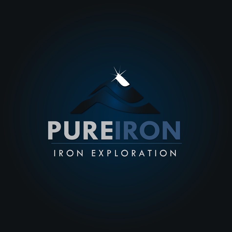 Logo Design by moonflower - Entry No. 113 in the Logo Design Contest Fun Logo Design for Pure Iron.