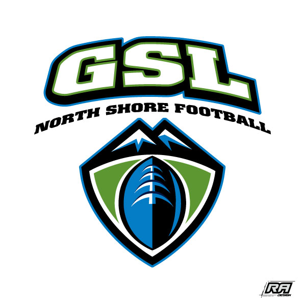 Logo Design by RA-Design - Entry No. 18 in the Logo Design Contest Unique Logo Design Wanted for GSL Football, also known as North Shore Football.